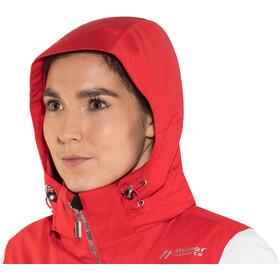 Maier Sports Valisera Veste de ski mTex Femme, poinsettia